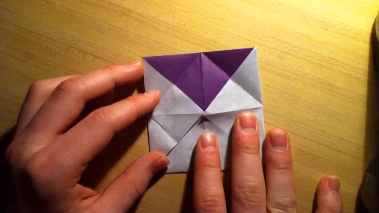 Faire une cocotte en papier pliage papier origami youtube - Fabriquer une cocotte en papier ...
