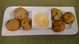 Potato Cheese and Spinach Croquettes..
