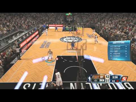 NBA 2K14: New York Knicks Vs Brooklyn Nets Gameplay PS4
