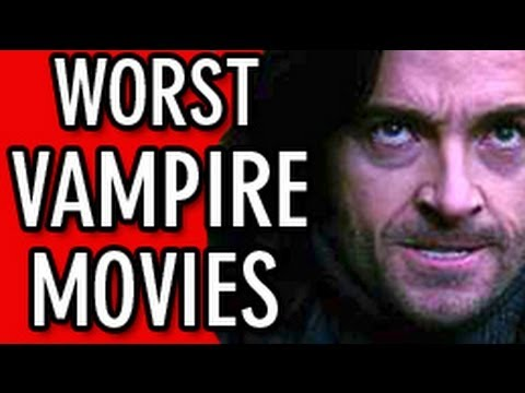 Worst Vampire Movies, With the final Twilight film coming out this month, we found it necessary to list off the worst vampire movies of all time. Grae Drake, Senior Editor of Rotten Tomatoes, counts down the worst vampire movies ever made on The Best Movie Lists.