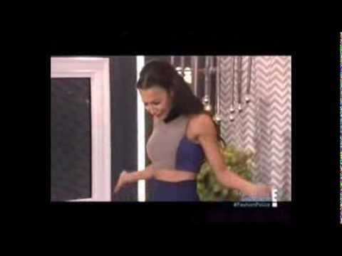 "Watch Glee's  Naya Rivera on ""Fashion Police"" -Video"