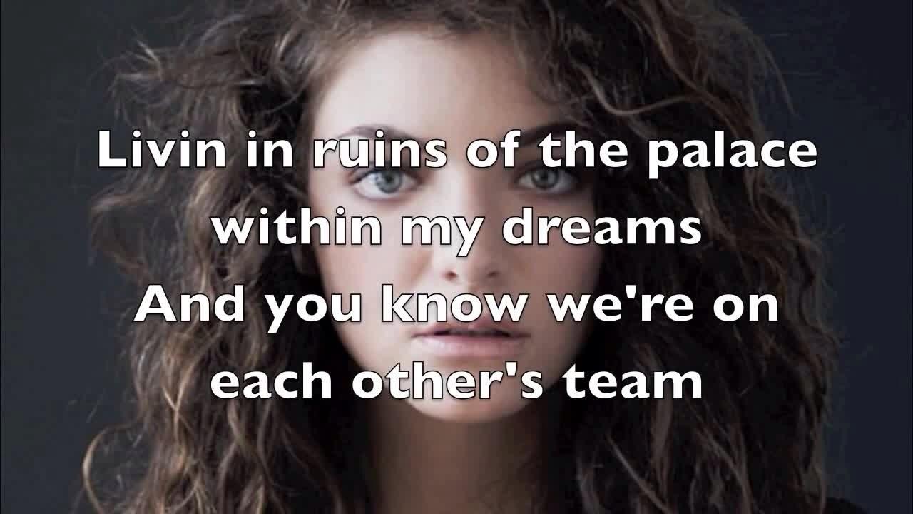 lorde team lyrics tumblr wwwimgkidcom the image kid