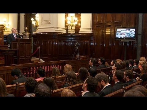 Ricardo Lorenzetti encabezó un nuevo encuentro del Foro de Políticas de Estado