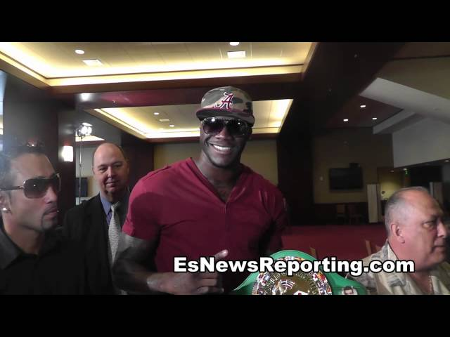 Deontay Wilder Meets Don King EsNews Boxing