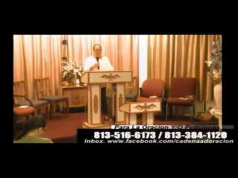 Culto Evangelistico, Concilio Pentecostal Senda Antigua A.M.I.P. Tampa Florida USA. 06-29-14