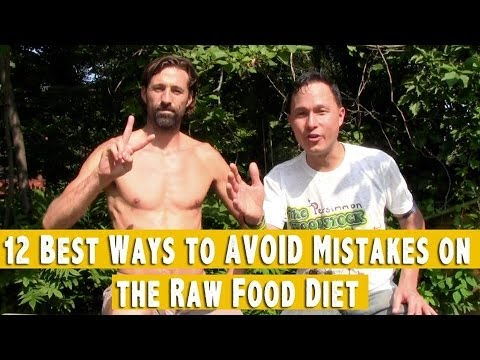 12 Best Ways to Avoid Mistakes on the Raw Food Diet