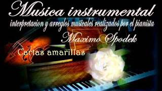 """Cartas amarillas"" en piano"