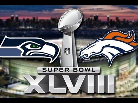 NFL Super Bowl 2014 - Denver Broncos vs Seattle Seahawks | Peyton Manning vs Russell Wilson