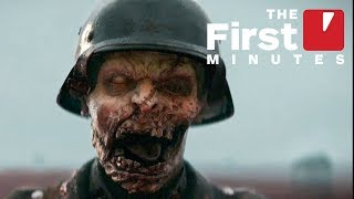 The First 15 Minutes of Call of Duty: WW2 Nazi Zombies - The Darkest Shore DLC (Captured in 4K)
