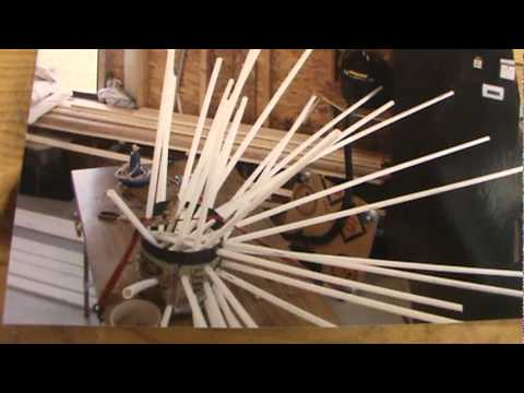 Fish attractor youtube for Homemade fish structure