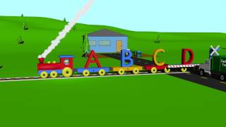 ABC Alphabet Song Train Learning For Kids