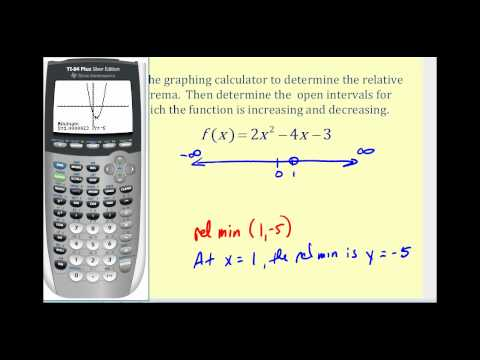Determine Where a Function is Increasing and Decreasing