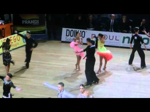 Khrzhanovsky - Bunina, RUS | 2013 World Championships Junior II Latin