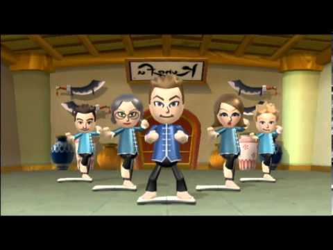 Wii Fit Plus Gameplay: Rhythm Kung Fu