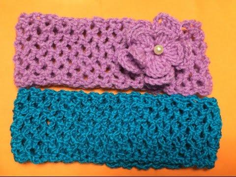 Cách móc băng đô cài tóc  - How to crochet a headband