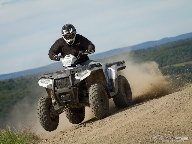The 2014 Polaris Sportsman 570 has been significantly revamped and is