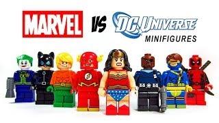 LEGO DC Vs Marvel Superheroes KnockOff Minfigures Set 2