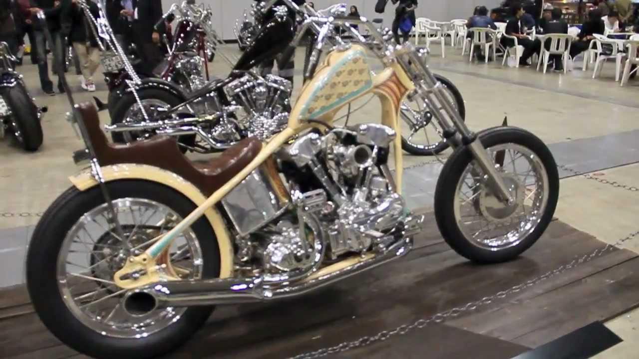knucklehead chopper custom harley davidson youtube