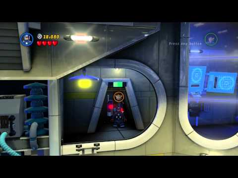 PS4 - Lego: Marvel Super Heroes Gameplay Part 2 Times Square Off (1/2)