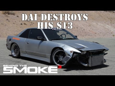 Daijiro Yoshihara Destroys His S13 - Behind The Smoke Season 3 - Ep 8