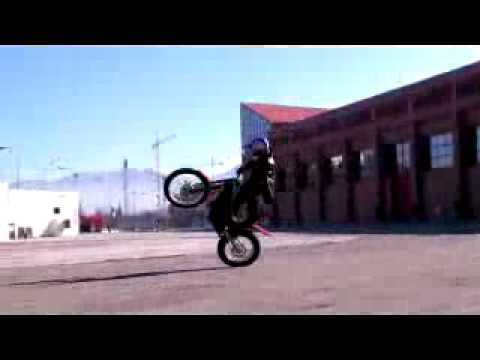 """RTW"" Spain / Bigest slide moto ever with Julien Dupont Ride the World"