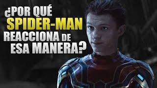 Explicación a la escena final de Spider-Man en Infinity War