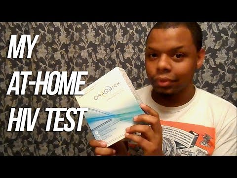My HIV Test Results @ Home With OraQuick