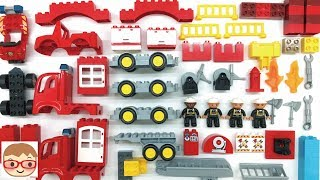 Fire Truck Assembly Videos for Kids - Car toys for children - Build and Play Toys for Children