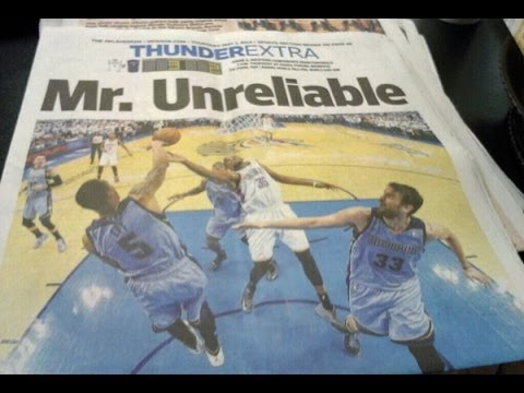Mr. Unreliable AKA Kevin Durant