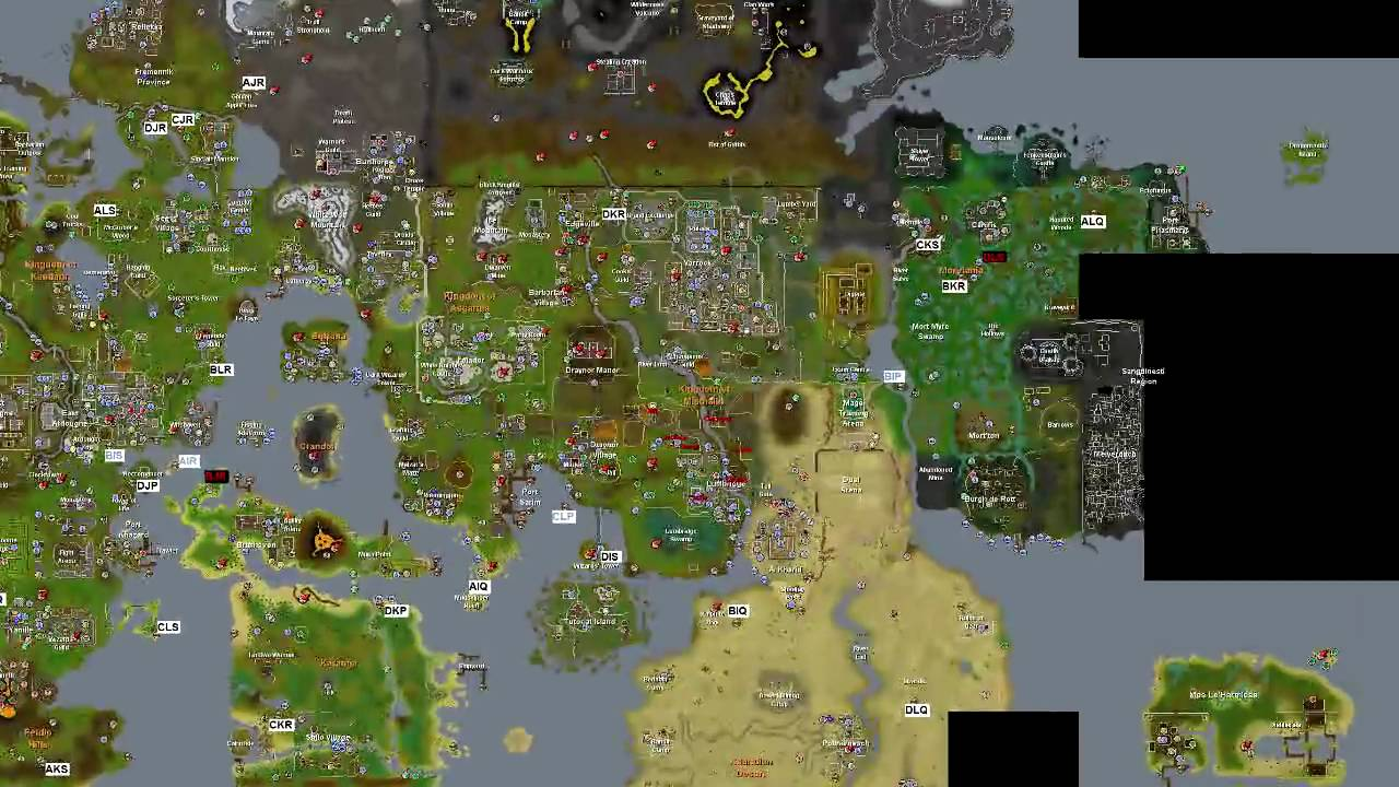 All Fair Ring Codes Map Osrs