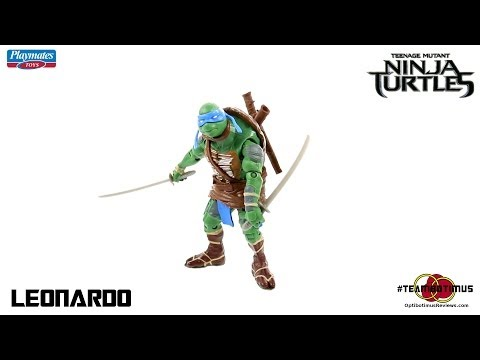 Video Review of the 2014 Teenage Mutant Ninja Turtles Movie: Leonardo