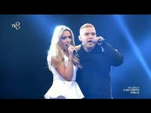 Hadise ve Gökhan'dan Muhteşem Düet -  I Love Rock'n Roll - O Ses Türkiye
