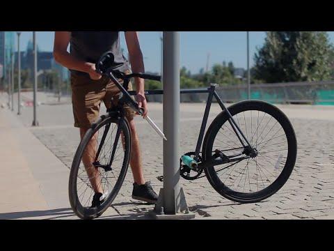 """Vídeo Primeira bicicleta """"inrobável"""" do mundo entra em produção"""