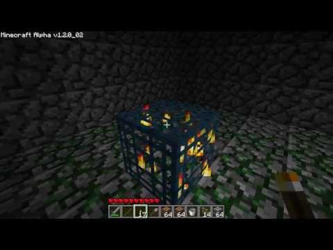 Minecraft Oldschool #4: HALLOWEEN UPDATE! NETHER!