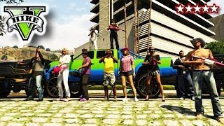 GTA PARTY!!! Goofing OFF! GTA 5 Hanging With The Crew