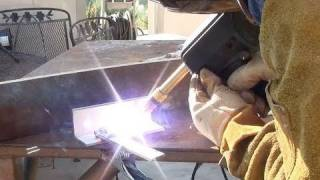 Using A Spool Gun For The First Time To Weld Aluminum