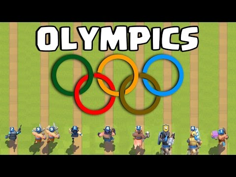 Clash Royale Olympics  Whos the Fastest