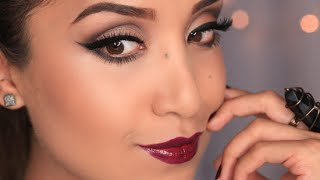 Full Glam Fall Makeup Tutorial