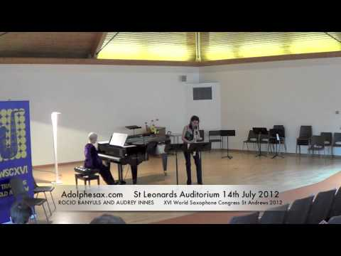 WSCXVI ROCIO BANYULS AND AUDREY INNES   Shadowplay by Helen Grime