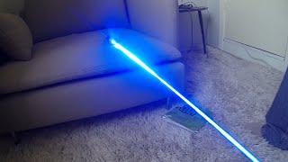 Powerful 4500mW Blue Laser Demonstration