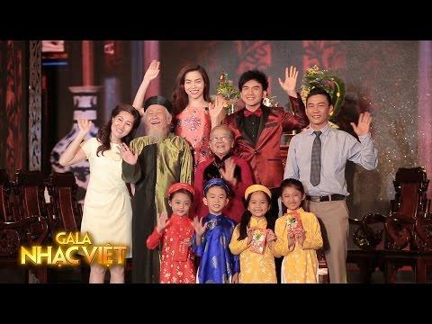 Mừng Tuổi Mẹ Cha - Đan Trường, Hồ Ngọc Hà (Gala Nhạc Việt 5 - Xuân Đất Việt, Tết Quê Hương)