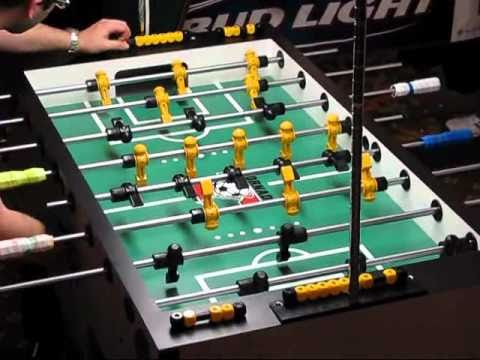 Billy Pappas vs Terry Rue 2010 National Foosball Championships