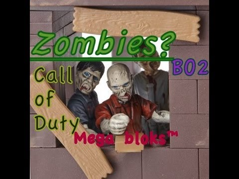 Call of Duty Mega Bloks Zombies!!!
