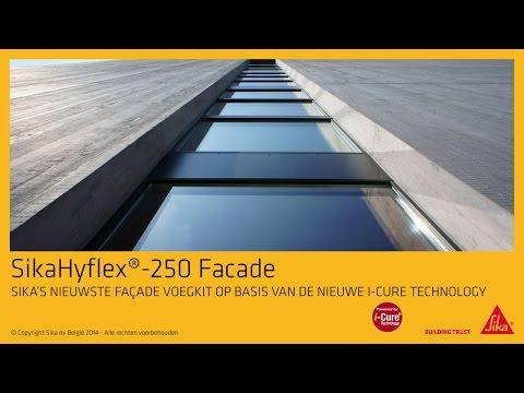 Sika - SikaHyflex-250 Facade De hoogwaardige weerbestendige voeg - en afdichtingskit voor gevels
