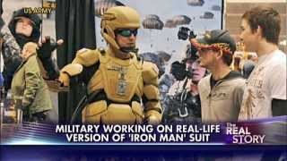 Military Of The Beast : 'Iron Man' Suits For US Military