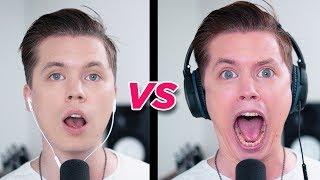 SINGING while wearing NOISE CANCELLING HEADPHONES