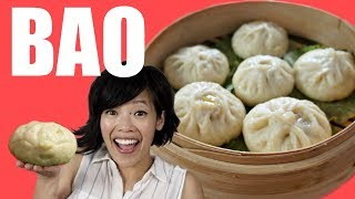 How to make BAO from the Pixar movie Bao - Chinese steamed bun recipe