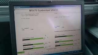 Определение дефекта системы VANOS на двигателе N52B25