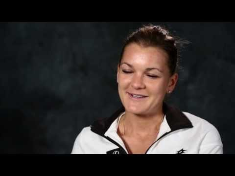 Interview with Aga Radwanska - 2014 Australian Open