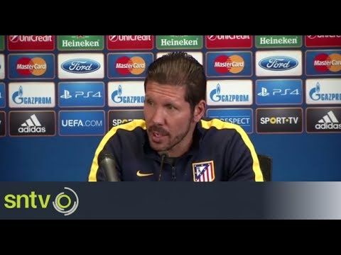 Simeone sees 'tight' Champions League final